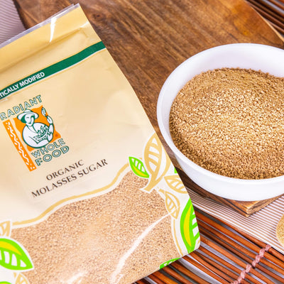 Radiant Organic Molasses Sugar (Powder) Sugar & Sweetener Radiant-Whole-Food-Organic-Delivery KL-PJ-Malaysia