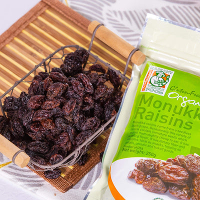 Radiant Organic Monukka Raisins Dried Fruit Radiant-Whole-Food-Organic-Delivery KL-PJ-Malaysia