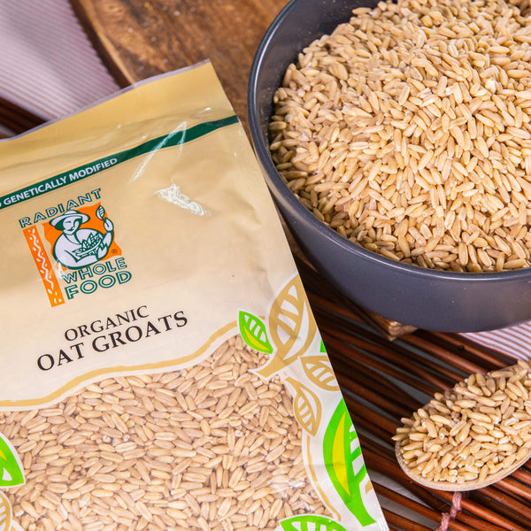 Radiant Organic Oat Groat Grains Radiant-Whole-Food-Organic-Delivery KL-PJ-Malaysia