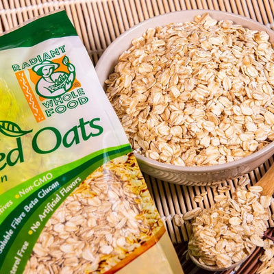 Radiant Organic Rolled Oats Cereal, Flakes & Puffs Radiant-Whole-Food-Organic-Delivery KL-PJ-Malaysia