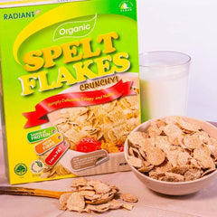 Radiant Organic Spelt Flakes Cereal, Flakes & Puffs Radiant-Whole-Food-Organic-Delivery KL-PJ-Malaysia