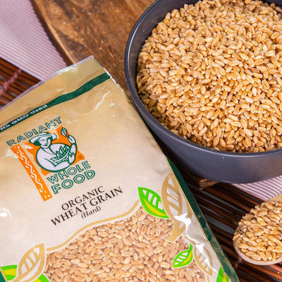 Radiant Organic Wheat Grain Grains Radiant-Whole-Food-Organic-Delivery KL-PJ-Malaysia