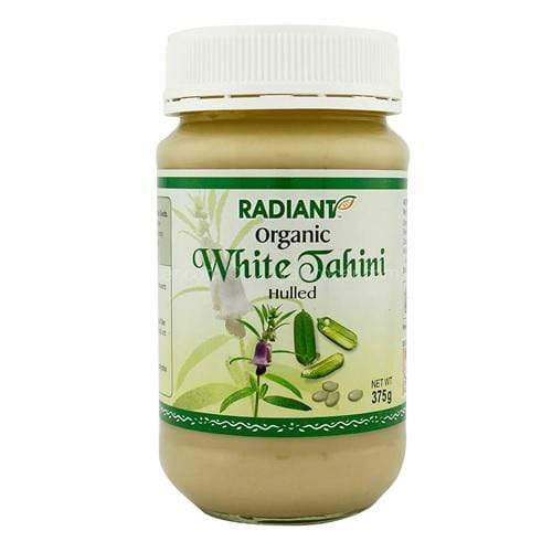 Radiant Organic White Tahini - Hulled Jams & Spreads Radiant-Whole-Food-Organic-Delivery KL-PJ-Malaysia