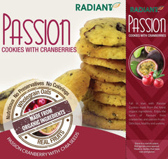 Radiant Passion Cookies With Cranberries And Oats Confectionary Radiant-Whole-Food-Organic-Delivery KL-PJ-Malaysia