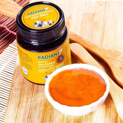 Radiant Raw Manuka Mg 100 Honey Radiant-Whole-Food-Organic-Delivery KL-PJ-Malaysia