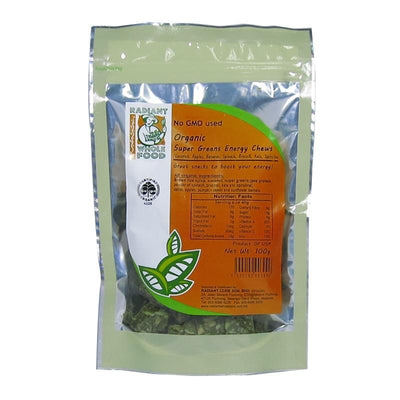Radiant Super Greens Energy Chews Confectionary Radiant-Whole-Food-Organic-Delivery KL-PJ-Malaysia