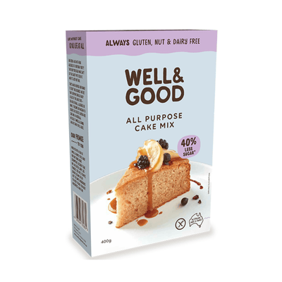 Well & Good All Purpose Cake Mix Baking Mixes & Ingredients Radiant-Whole-Food-Organic-Delivery KL-PJ-Malaysia