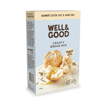 Well & Good Crusty Bread Mix Baking Mixes & Ingredients Radiant-Whole-Food-Organic-Delivery KL-PJ-Malaysia