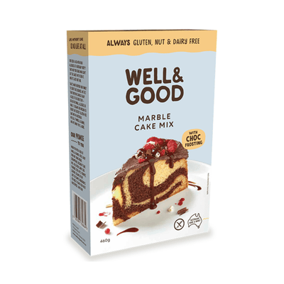 Well & Good Marble Cake Mix Baking Mixes & Ingredients Radiant-Whole-Food-Organic-Delivery KL-PJ-Malaysia