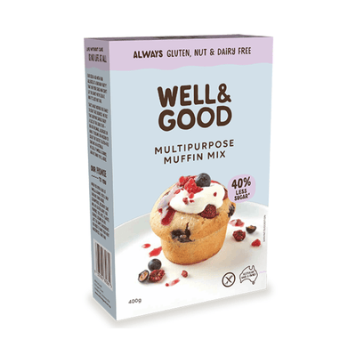 Well & Good Multipurpose Muffin Mix Baking Mixes & Ingredients Radiant-Whole-Food-Organic-Delivery KL-PJ-Malaysia