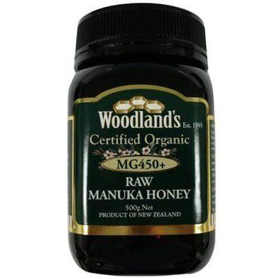 Woodland's Manuka Honey Mg 450 Org Honey Radiant-Whole-Food-Organic-Delivery KL-PJ-Malaysia