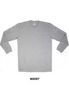 CeDe° Long sleeve Gray / BOOST°