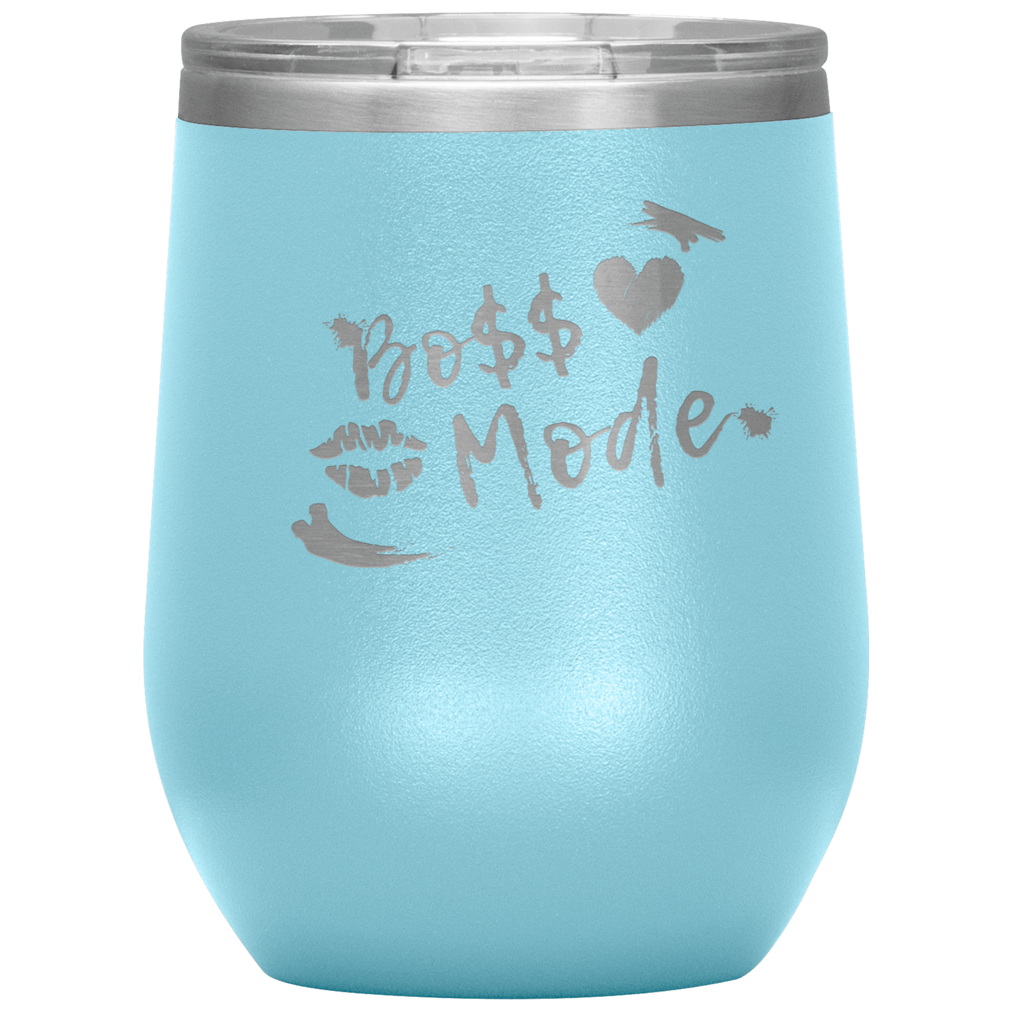 Boss Mode Wine Tumbler Wine Tumbler Tatiez Boutique