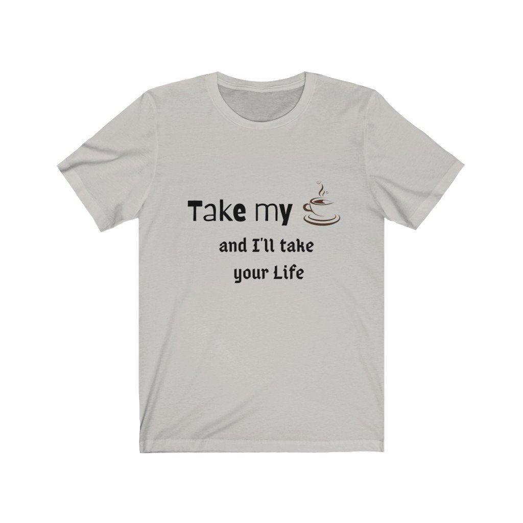 Coffee Drinker Cotton Tee T-Shirt Tatiez Boutique