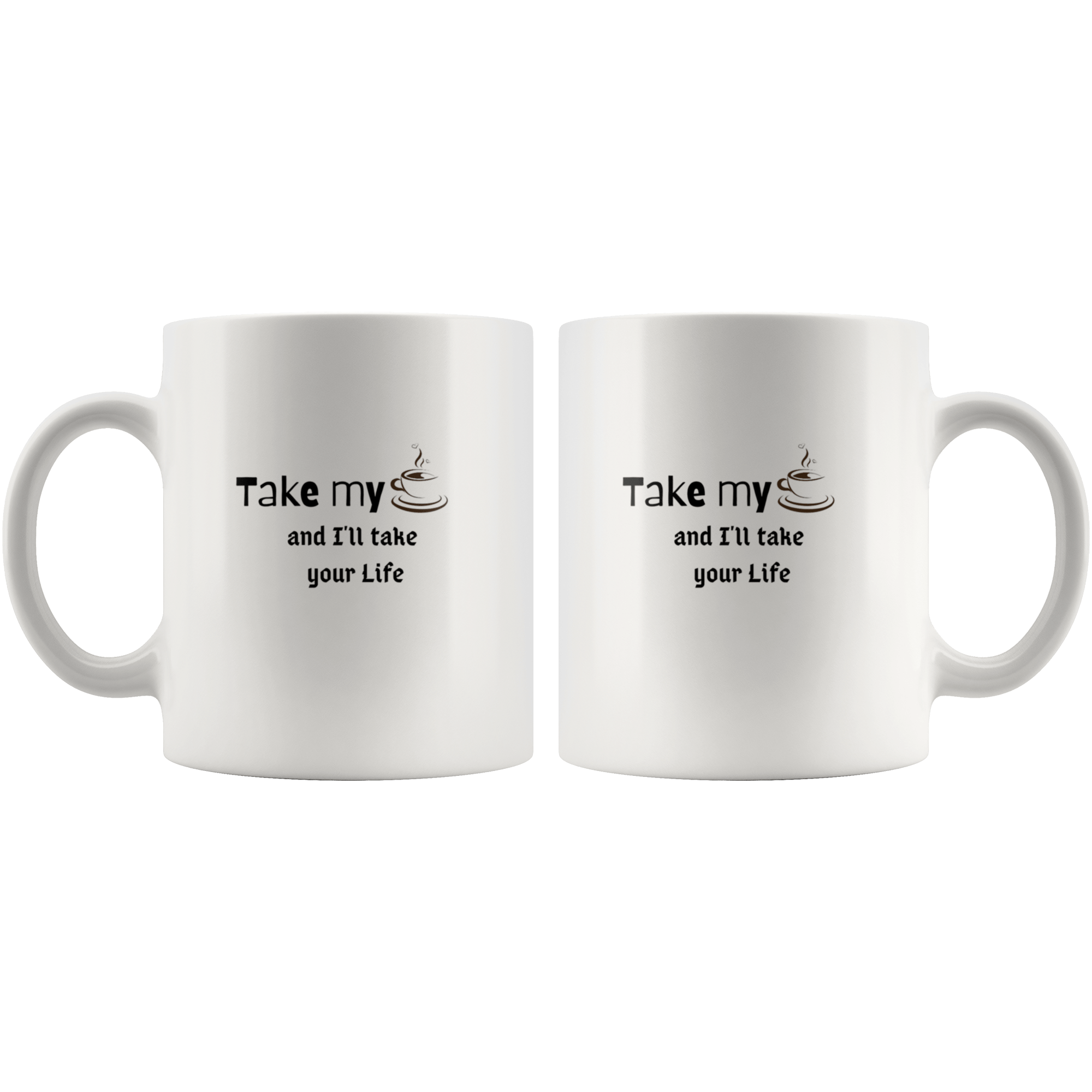 Coffee Thief | Miami Clothing Mugs Tatiez Boutique
