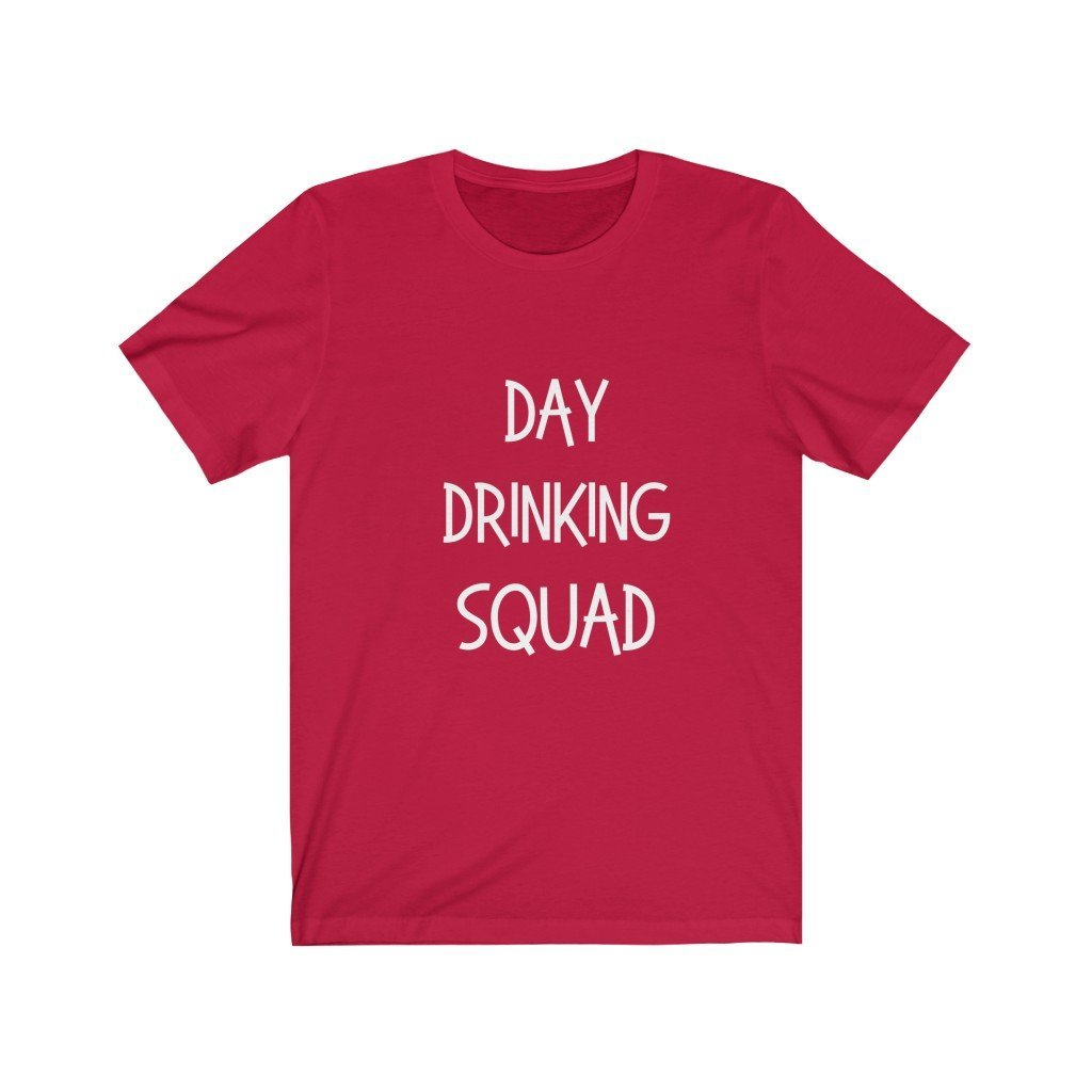 Day Drinking Squad Cotton Tee T-Shirt Tatiez Boutique