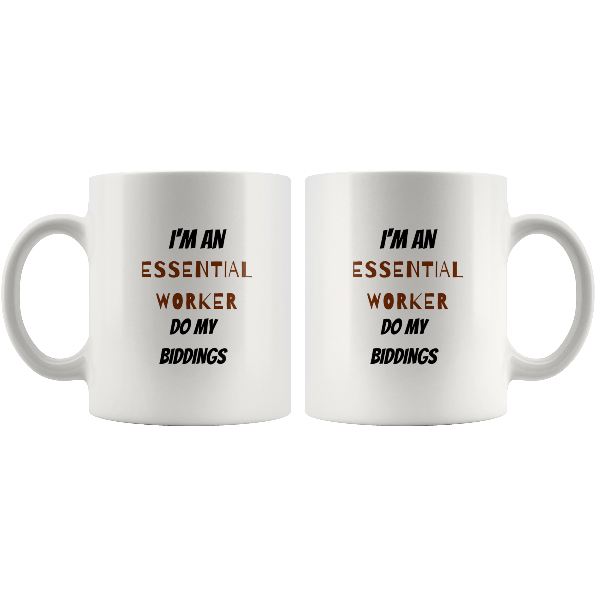 Essential Worker Mug Mugs Tatiez Boutique