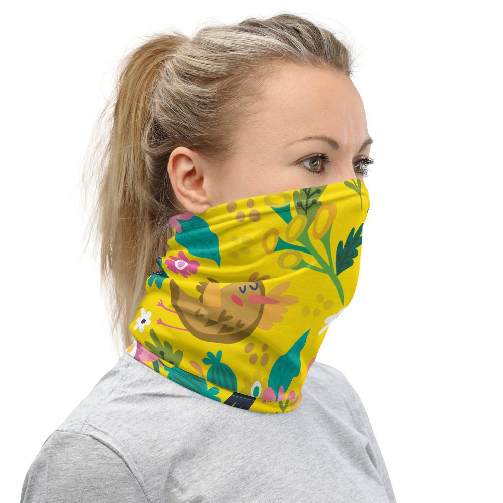 Neck Gaiter Yellow Spring  Tatiez Boutique