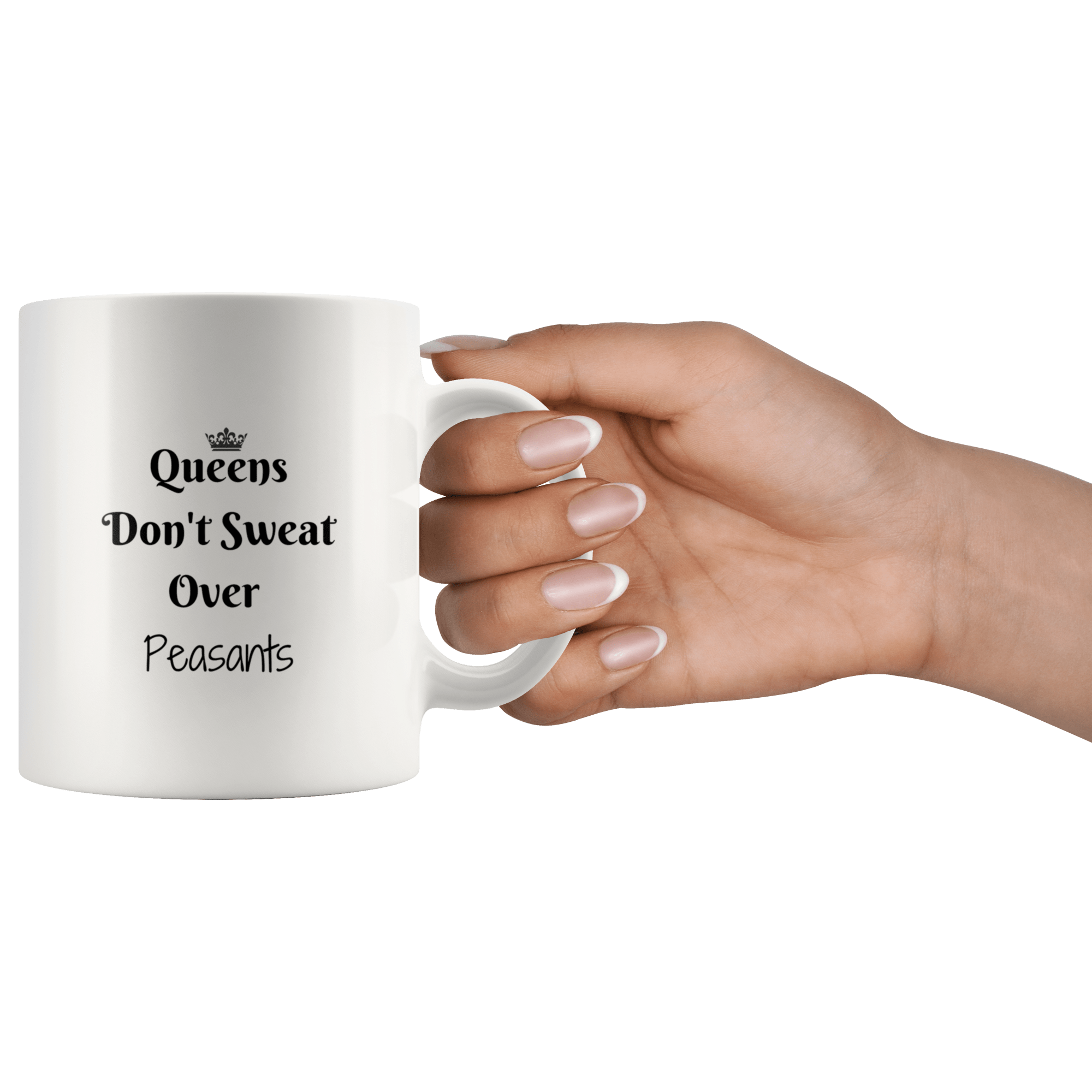 Queens VS Peasants Mug Drinkware Tatiez Boutique