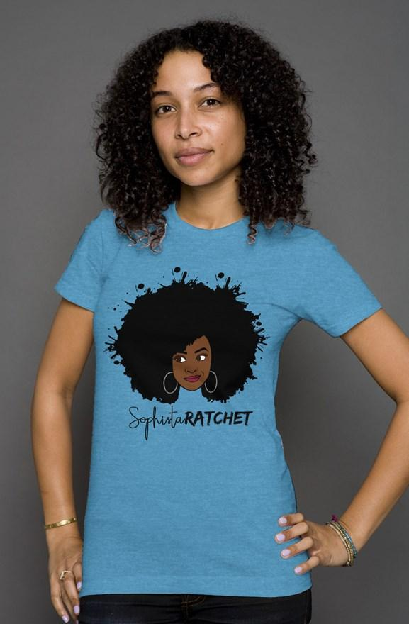 Sophistarachet Natural Hair Triblend Tee  | Miami Clothing tshirts Tatiez Boutique
