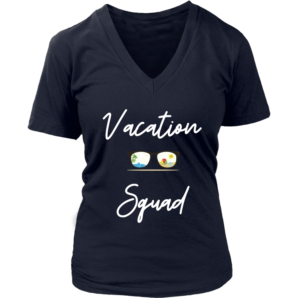 Vacation Squad Short Sleeve Tee | Miami Clothing T-shirt Tatiez Boutique
