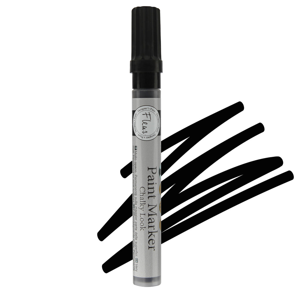 Paint Marker Black 1-2mm
