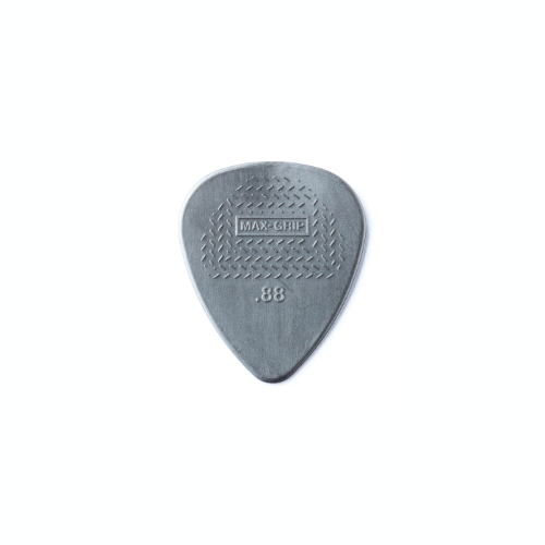 Dunlop Pick - Nylon Max Grip - 0.88mm - Pack of 12