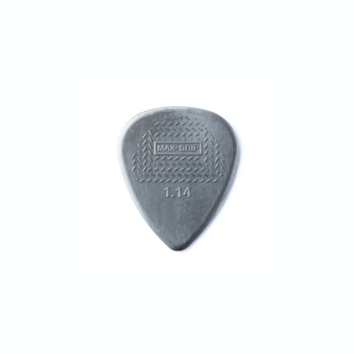 Dunlop Pick - Nylon Max Grip - 1.14mm - Pack of 12