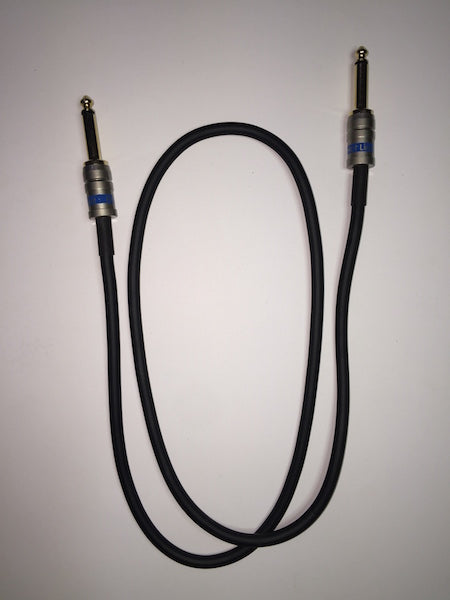 "Cable Guys Patch Lead 6.3mm (1/4"") Jacks - Black - 915mm (3 feet)"