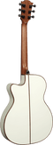 LAG T118 ASCE-IVO Auditorium Cutaway Spruce Ivory