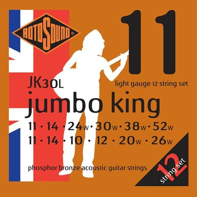 Rotosound 12 String Jumbo King Light 11-52