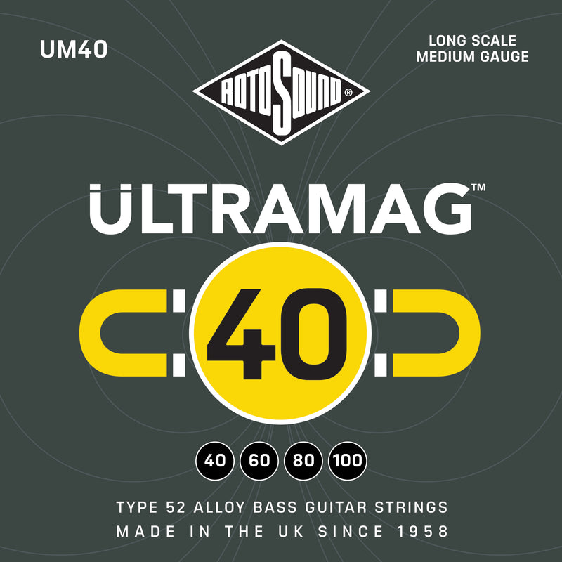 Rotosound Ultra Mag 40-60-80-100