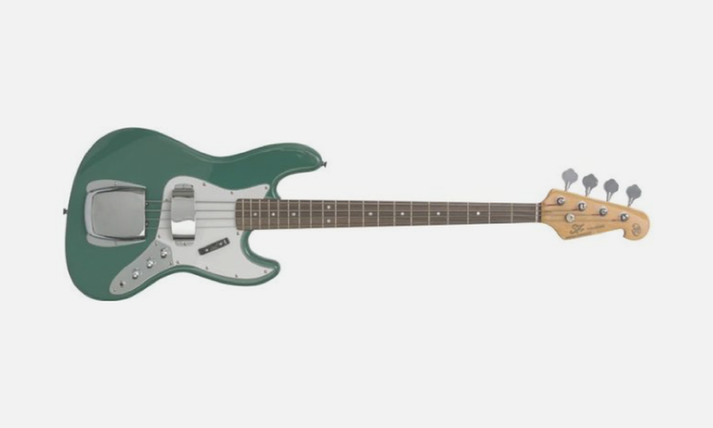 SX Bass Jazz Style - Vintage Green
