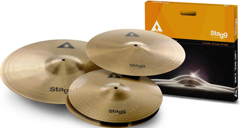 Stagg Copper Steel AXK Cymbal Set