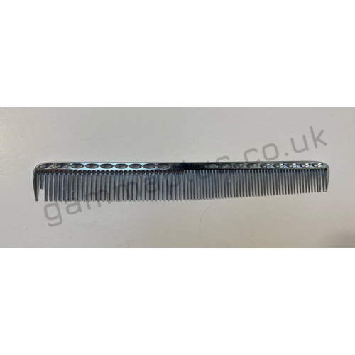 Gamma+ 201 Metal Cutting Comb - Chrome
