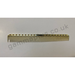 Gamma+ 201 Metal Cutting Comb - Gold