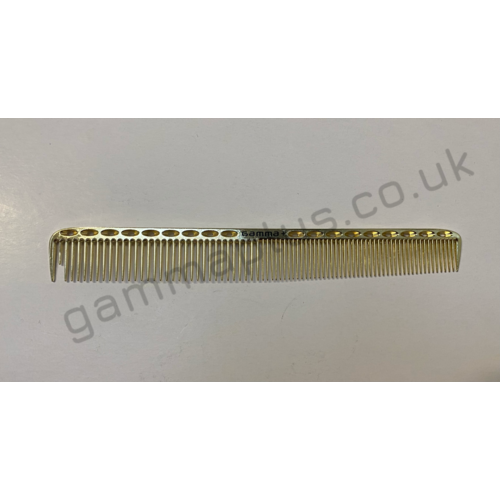 Gamma+ 210 Metal Cutting Comb - Gold