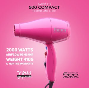 Gamma+ 500 Ultra Light Compact - Black or Pink