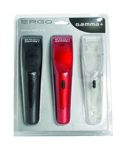Gamma+ Ergo Lids Body Kits Black Red Clear
