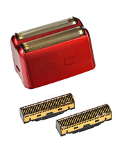 Load image into Gallery viewer, Stylecraft Wireless Prodigy Foil Shaver - Shiny Metallic Red
