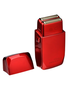 Stylecraft Wireless Prodigy Foil Shaver - Shiny Metallic Red
