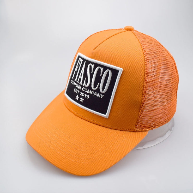 Florida Orange Trucker Cap