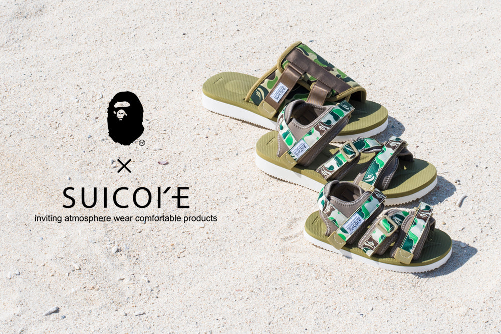 A BATHING APE® x SUICOKE