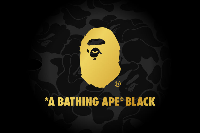A BATHING APE® BLACK