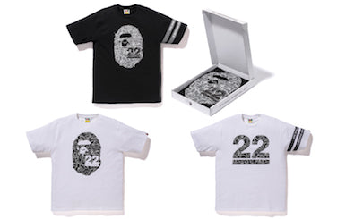 A BATHING APE? 22nd ANNIVERSARY