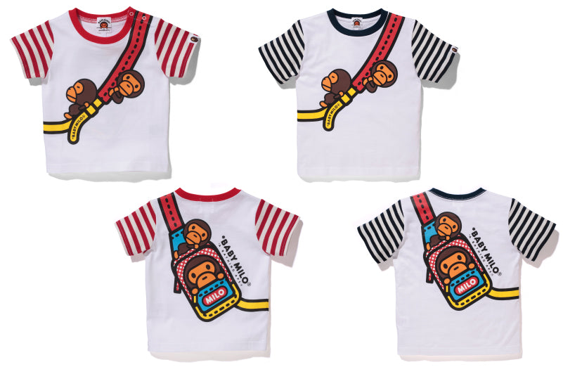 BABY MILO FAKE SHOULDER TEE