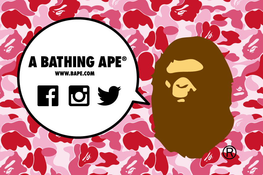 A BATHING APE® OFFICIAL SNS