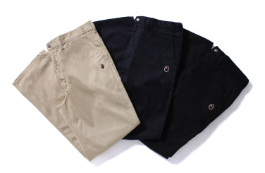 APE HEAD ONE POINT CHINO PANTS