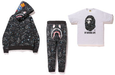 A BATHING APE? SPACE CAMO COLLECTION PRE-LAUNCH