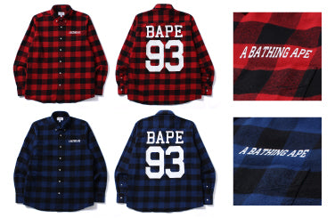 BLOCK CHECK FLANNEL SHIRT